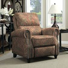 Chair And A Half Recliner Reclining Armchair Fabric Fabric Reclining Chair With Ottoman