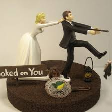 fishing wedding cake toppers wedding cake toppers decorations