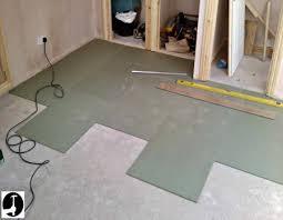 laminate flooring underlay