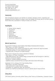 Front End Developer Resume Sample by Vba Developer Resume Sample 12287
