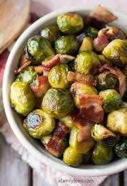 these roasted brussels sprouts with cranberries and balsamic