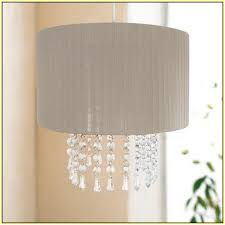 Burlap Chandelier Shades Chandelier Lamp Shades With Crystals Home Design Ideas