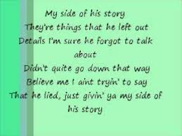 briant my side of his with lyrics
