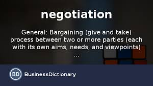 Np Full Form In Resume What Is Negotiation Definition And Meaning Businessdictionary Com