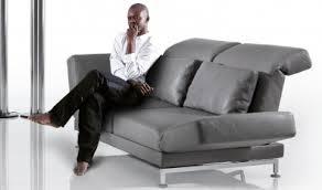 sofa moule zweisitzer sofa moule leder green living ökomöbel