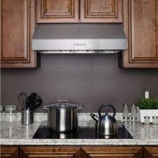 36 Range Hood Under Cabinet Ducted Range Hoods Appliances The Home Depot