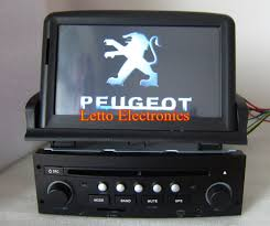 new peugeot 307 dvd player with built in gps bluetooth rds ipod