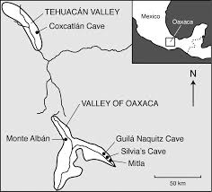 Oaxaca Mexico Map Precolumbian Use Of Chili Peppers In The Valley Of Oaxaca Mexico