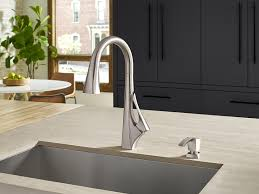 sink u0026 faucet pfister gt els lita single handle pull down faucet