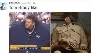 North Face Jacket Meme - patriot s tom brady mocked for huge coat on the sidelines daily