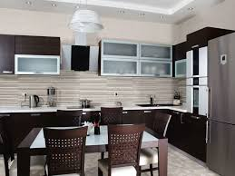 modern black kitchens granite countertop kitchens preeminent designs mosaic kitchen
