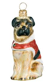 pug home decor collectible christmas ornaments holiday decor nordstrom
