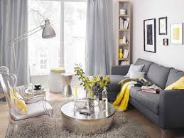 Gray And Yellow Living Room by Luxurius Gray And Yellow Living Room Ideas Also Small Home