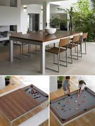 Dining Room Pool Table Many People Wish They Owned A Pool Table But Just Don U0027t Have The
