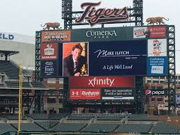 Comerica Park Map Motor City Electric Co Helps Design Comerica Park Home Of The