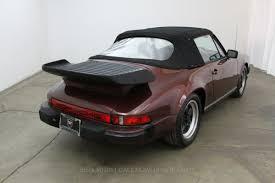 Porsche 911 Hardtop Convertible - 1983 porsche 911sc cabriolet beverly hills car club