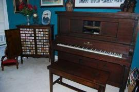 player piano roll cabinet cost to ship player piano bench 120 rolls piano roll cabinet