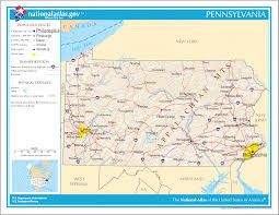 Pennsylvania County Maps by Pennsylvania Maps And Reference