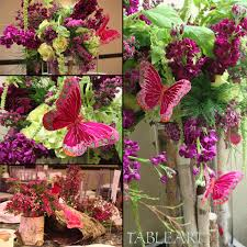 butterfly centerpieces tableart