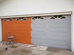 orange base coat color on garage door everything i create