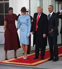 melania trump u0027s inauguration fashion statements are decidedly