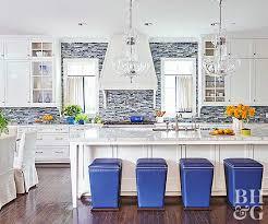 backsplashes kitchen 17 kitchens with stealing backsplashes better homes gardens