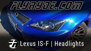 lexus isf front bumper for sale lexus is f black headlights with umnitza led angel eyes and dtrl w
