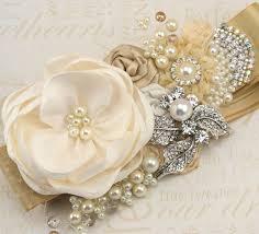 Wedding Dress Sashes 81 Best Bridal Sashes Images On Pinterest Bridal Sash Bridal