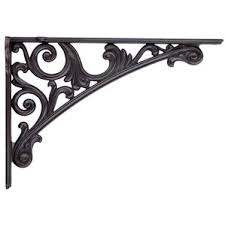 decorative shelf brackets wayfair