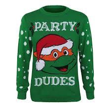 tmnt santa s sweater