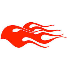 flames stencils airbrush template flame fire for tatoo rc car