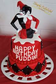 harley quinn birthday cake food pinterest harley quinn