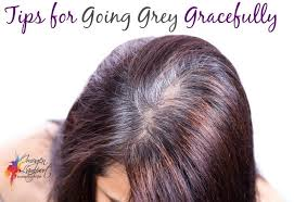 growing out gray hair tips for going grey and other weekend reading inside out style