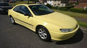 peugeot yellow roffle peugeot 406 3 0 v6 coupe manual yellow all tickets