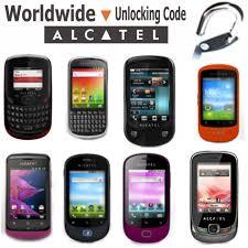 alcatel unlock code fast unlocking code ot 6035 ot 6110 ot 7024 ot