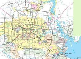 Map Of New Orleans Area by Houston Maps Texas U S Maps Of Houston