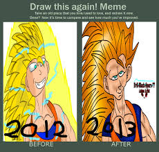 I Need An Adult Meme - meme before and after adult gohan ssj3 by evil black sparx 77 on
