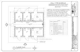 cmu floor plans standard restrooms romtec inc