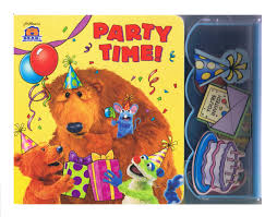 buy party time bear in the big blue house puzzle play book