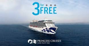 princess cruises 3 for free sale offers the best at sea
