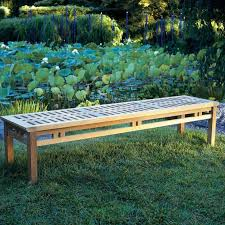 Asian Benches Bench Backless Bench Outdoor Backless Bench Winebarrelfurniture