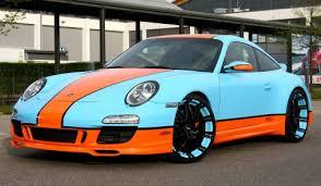 gulf porsche 911 gulf themed porsche 911 on 20 inch oxigin wheels gtspirit