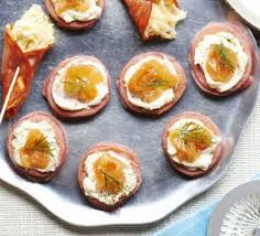 bellini canape beetroot blinis with smoked salmon recipe food