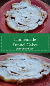 homemade funnel cake u2013 grocery shrink