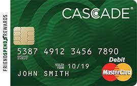 prepaid mastercards cascade prepaid mastercard