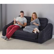 the inflatable queen size sleeper sofa hammacher schlemmer
