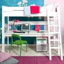 bureau pour lit mezzanine lit mezzanine bureau fille chambre ado fille avec lit mezzanine