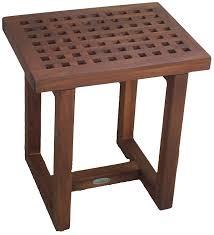 Redwood Shower Bench Amazon Com The Original Grate 18
