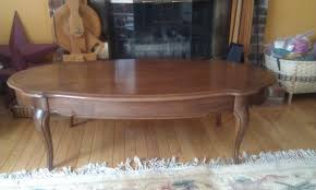 refinish coffee table and end tables project log