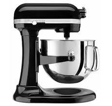kitchenaid mixer black amazon com kitchenaid ksm7586pob 7 quart pro line stand mixer